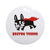 Boston Terror ornament (round)