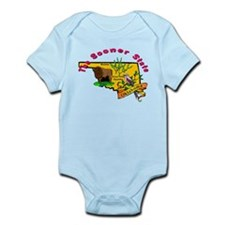 """Oklahoma Pride"" Infant Bodysuit"