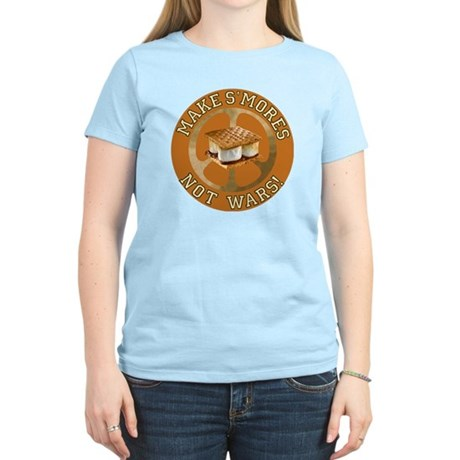 Make Smores Not Wars Women's Light T-Shirt