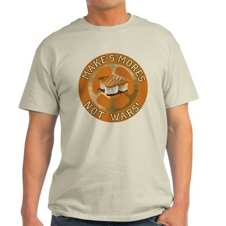 Make Smores Not Wars Light T-Shirt
