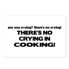 There's No Crying in Cooking Postcards (Package of