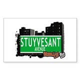 STUYVESANT AVENUE, BROOKLYN, NYC Decal