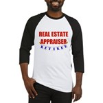 Retired Real Estate Appraiser Baseball Jersey