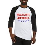 Retired Real Estate Appraiser Baseball Jersey