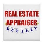 Retired Real Estate Appraiser Tile Coaster