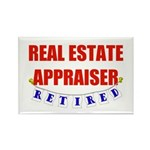 Retired Real Estate Appraiser Rectangle Magnet