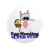 "Easter Super Star 3.5"" Button (100 pack)"