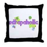 Scrapaholic Throw Pillow