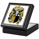 Graham Family Crest Keepsake Box