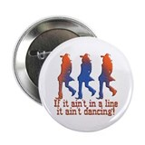 "Line Dancing 2.25"" Button (10 pack)"