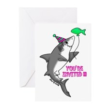 Shark Greeting Cards (Pk of 20)