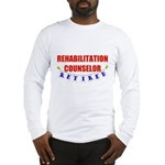 Retired Rehabilitation Counselor Long Sleeve T-Shi