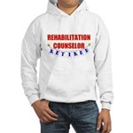 Retired Rehabilitation Counselor Hooded Sweatshirt