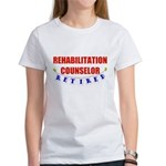 Retired Rehabilitation Counselor Women's T-Shirt