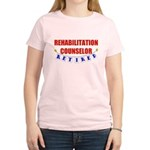 Retired Rehabilitation Counselor Women's Light T-S
