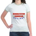 Retired Rehabilitation Counselor Jr. Ringer T-Shir
