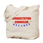 Retired Rehabilitation Counselor Tote Bag