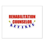 Retired Rehabilitation Counselor Small Poster