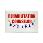 Retired Rehabilitation Counselor Rectangle Magnet