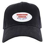 Retired Rehabilitation Counselor Black Cap