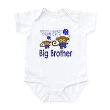 This Little Monkey Big Brothe Infant Bodysuit