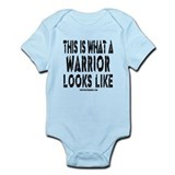 This is What a WARRIOR Looks Onesie