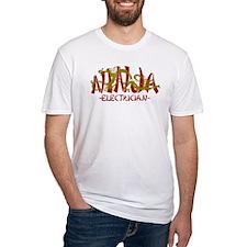 Dragon Ninja Electrician Shirt