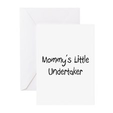 Mommy's Little Undertaker Greeting Cards (Pk of 10