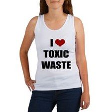 Real Genius - I Love Toxic Waste Women's Tank Top