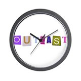 Riyah-Li Designs &amp;quot;Outcast&amp;quot; Wall Clock