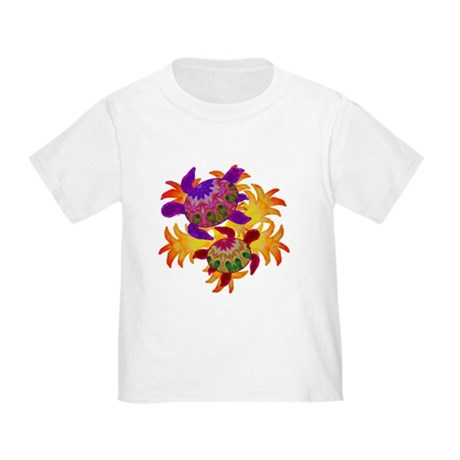 Flaming Turtles Toddler T-Shirt