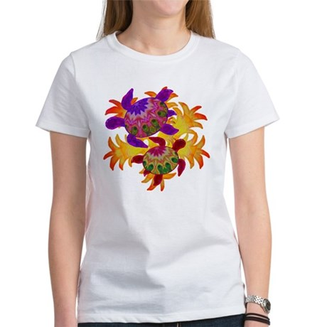 Flaming Turtles Women's T-Shirt