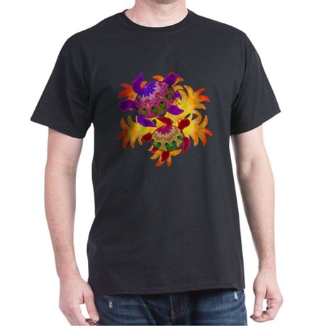 Flaming Turtles Dark T-Shirt