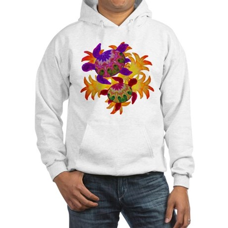 Flaming Turtles Hooded Sweatshirt