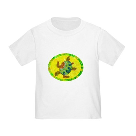 Distressed Turtle Toddler T-Shirt