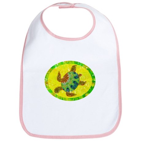 Distressed Turtle Bib