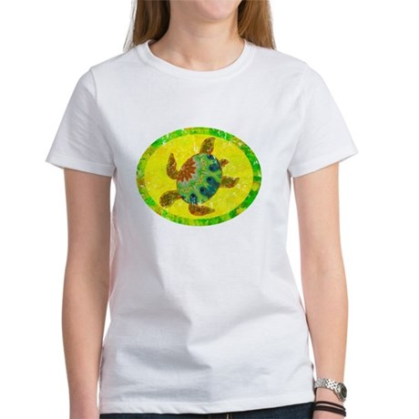 Distressed Turtle Women's T-Shirt