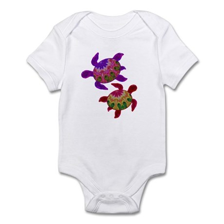 Painted Turtles Infant Bodysuit