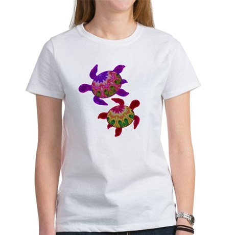 Painted Turtles Women's T-Shirt