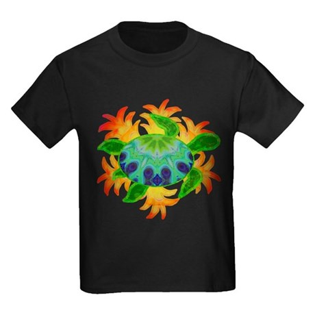 Flame Turtle Kids Dark T-Shirt