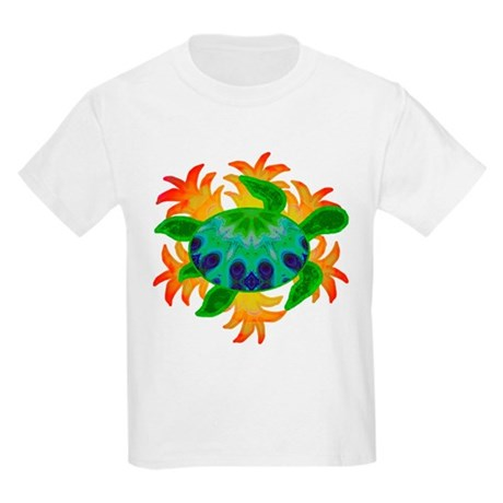 Flame Turtle Kids Light T-Shirt