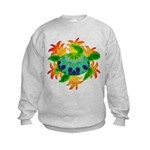 Flame Turtle Kids Sweatshirt