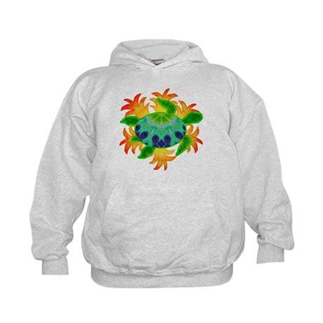 Flame Turtle Kids Hoodie