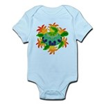 Flame Turtle Infant Bodysuit