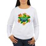 Flame Turtle Women's Long Sleeve T-Shirt