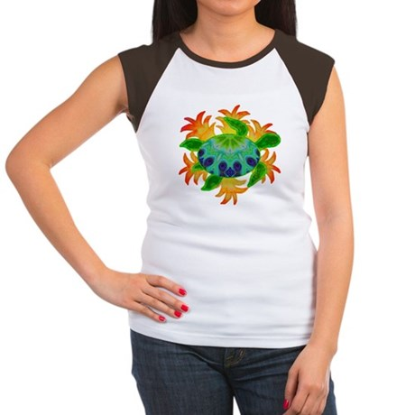 Flame Turtle Women's Cap Sleeve T-Shirt