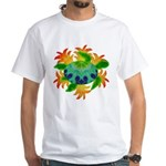 Flame Turtle White T-Shirt