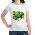 Flame Turtle Jr. Ringer T-Shirt