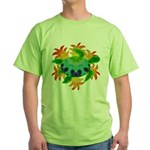 Flame Turtle Green T-Shirt