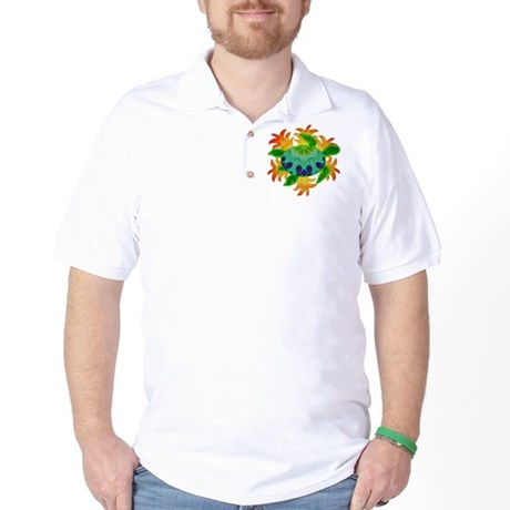 Flame Turtle Golf Shirt